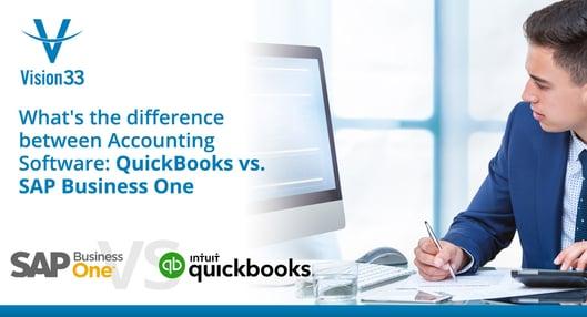 Quickbooks vs SAP business one