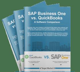 Quickbooks vs SAP Business One Infographic