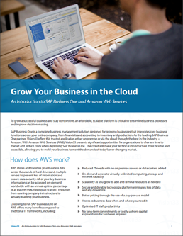SAP Business One Cloud Brochure