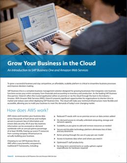 SAP Business One Cloud Brochure