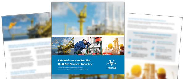 Download the SAP Business One ERP Software Brochure for Oil and Gas