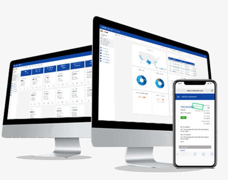 SAP Business One is a complete management solution for growing businesses