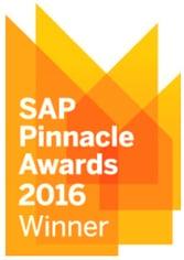 SAP Business One Pinnacle Award 2016