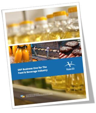 Download the SAP Business One ERP Software Brochure for Food and Beverage and Produce