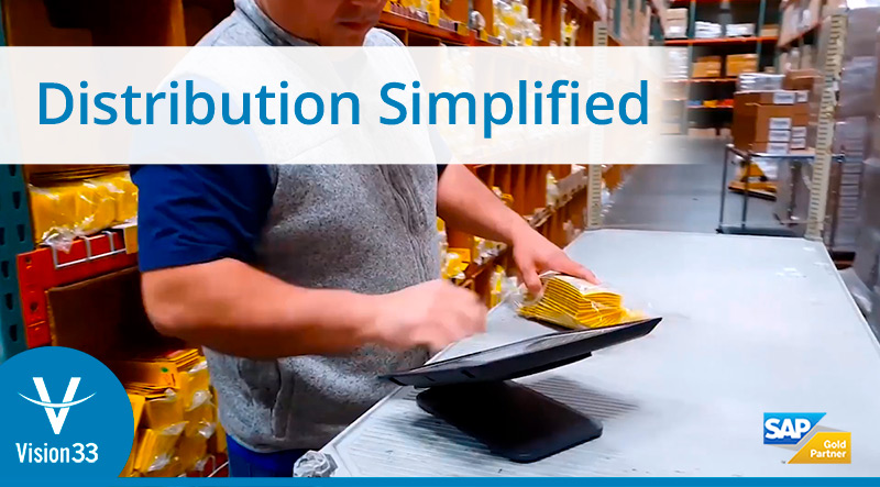ERP software - SAP Business One - Distribution
